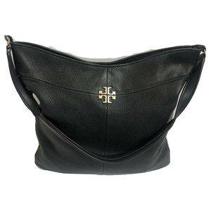 Tory Burch Handbag Satchel blk Leather Shoulderbag